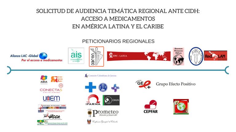 Organizaciones firmantes de Latinoamérica.