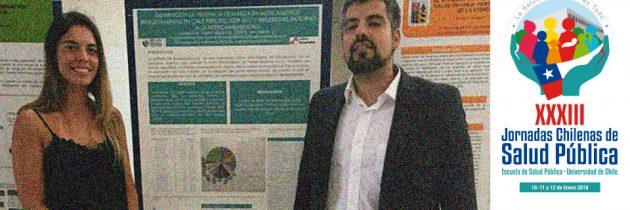 Participación en XXXIII Jornadas Chilenas de Salud Pública,