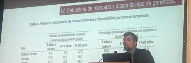 Exposición sobre acceso a medicamentos:   determinantes de precios y otros tópicos.